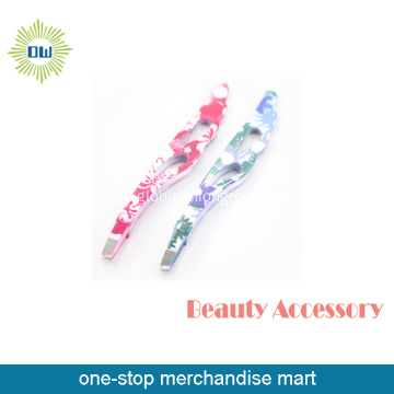 Printing Stainless Steel Eyebrow Tweezers Set